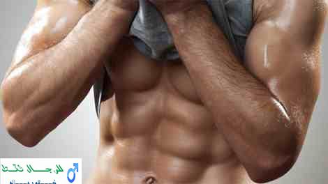 عضلات البطن الستة