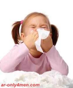 علاج الزكام عند الاطفال