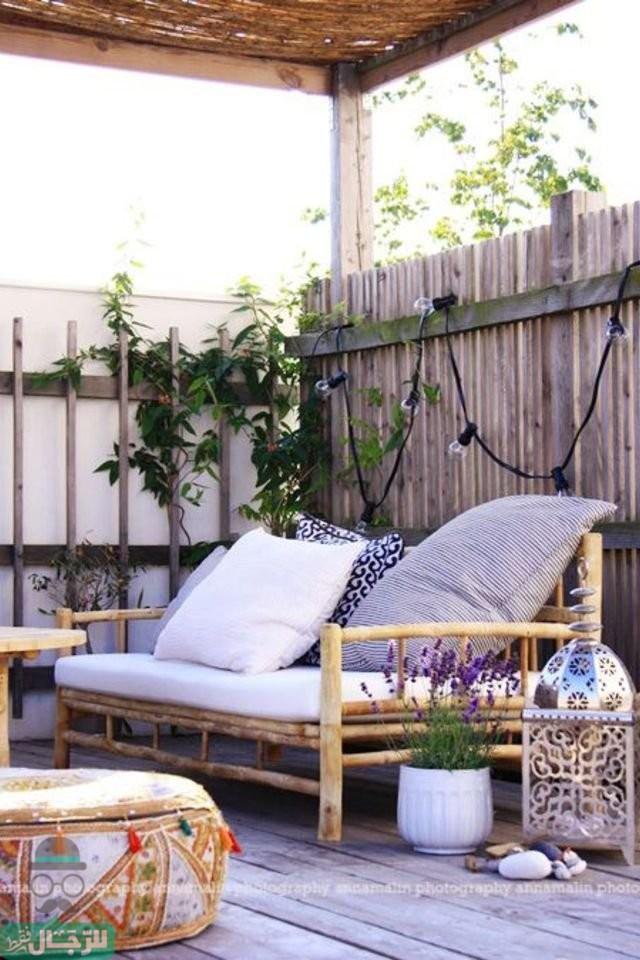 أفكار مبتكرة لتزيين شرفة منزلك .. الشرفة ليست مكان للكراكيب