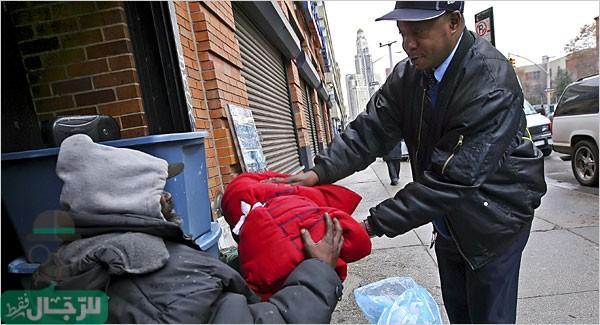 مساعدة المشردين