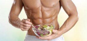 أفضل نظام غذائي لبناء العضلات وحرق الدهون
