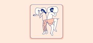 لماذا يحب الرجل النوم فوق زوجته